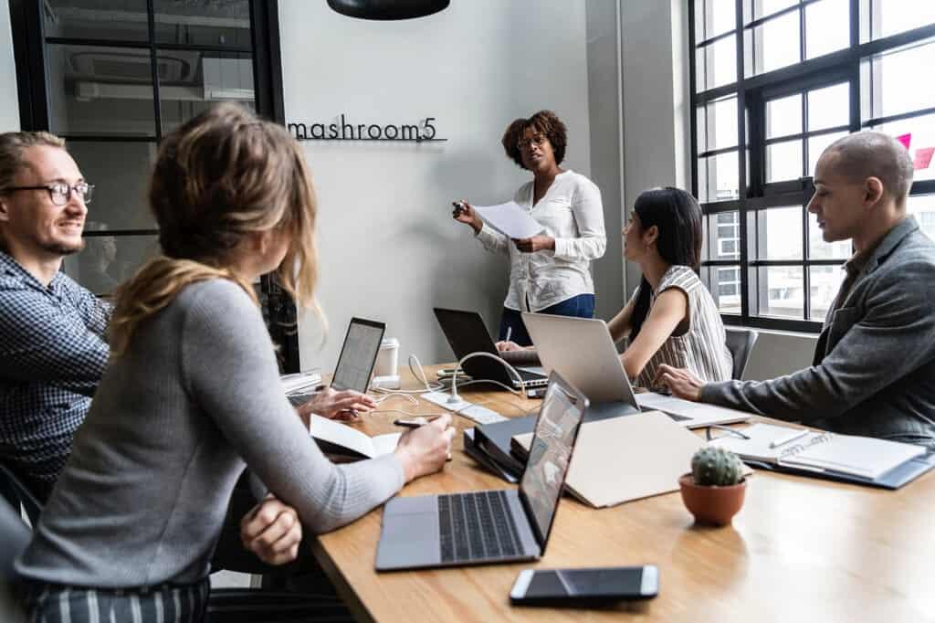 Mitigate Boardroom Meeting